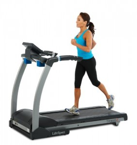 LifeSpan Fitness TR3000i Folding Treadmill