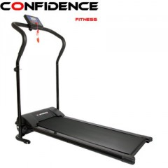 Confidence Power Plus Motorized Electric Treadmill BLACK